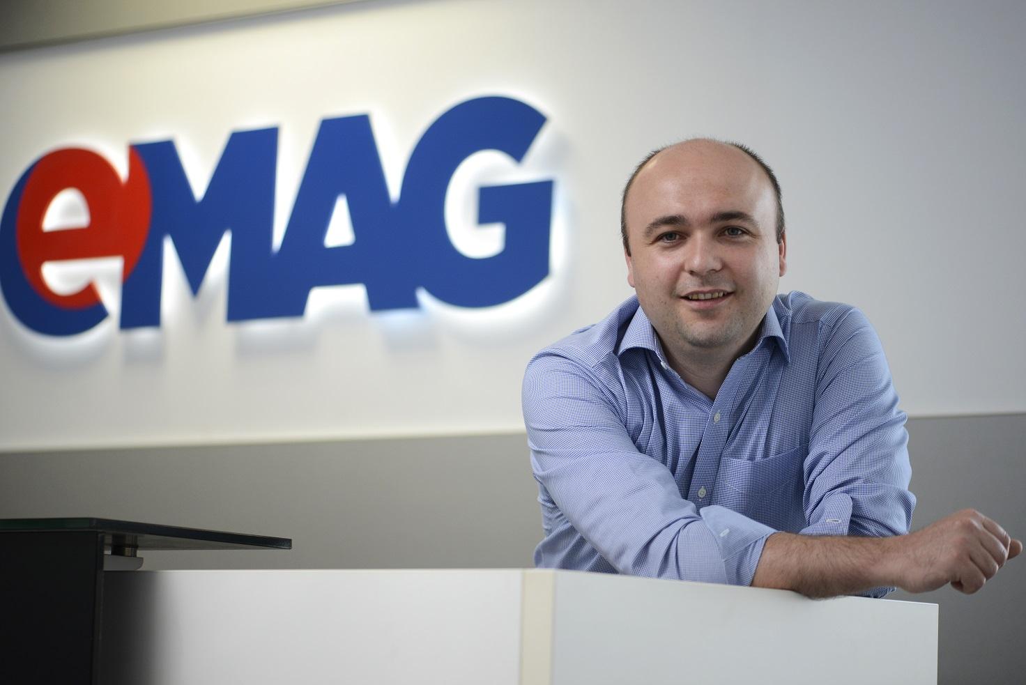 Tudor Manea este noul director general eMAG pentru operațiunile din România