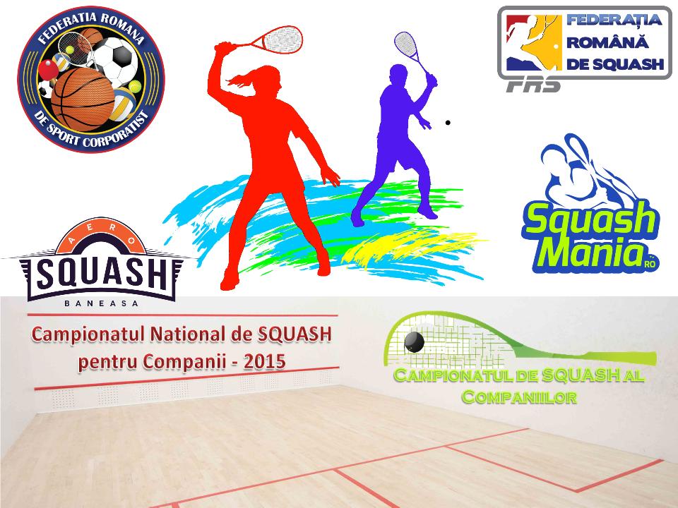Primul campionat de squash al corporatiștilor