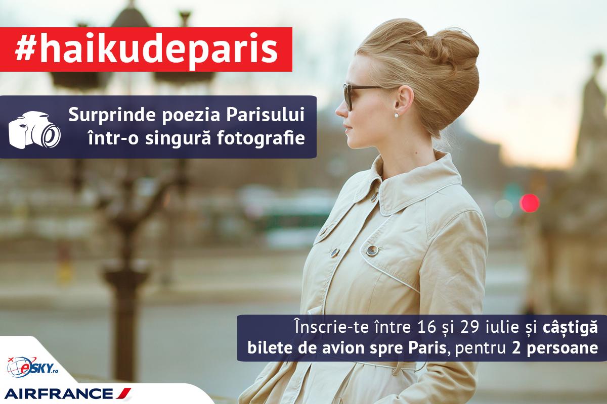 #haikudeparis, poezia Parisului într-o singură fotografie