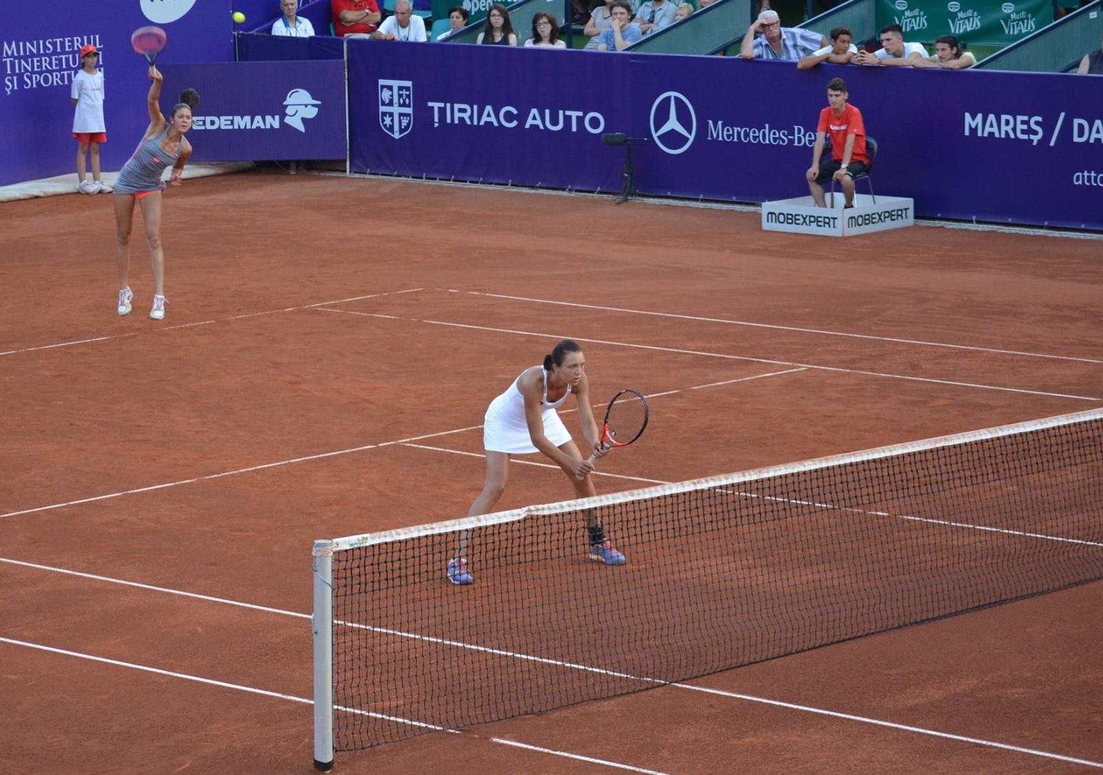 Andreea Mitu si Patricia Tig s-au calificat in finala la dublu a BRD Bucharest Open