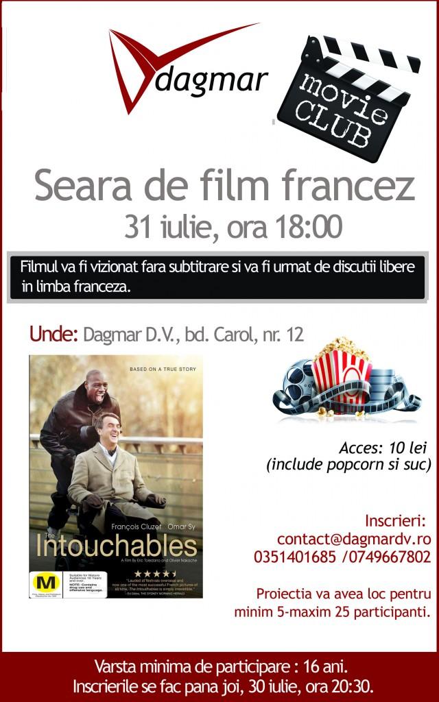 Seara de film francez la Dagmar D.V.