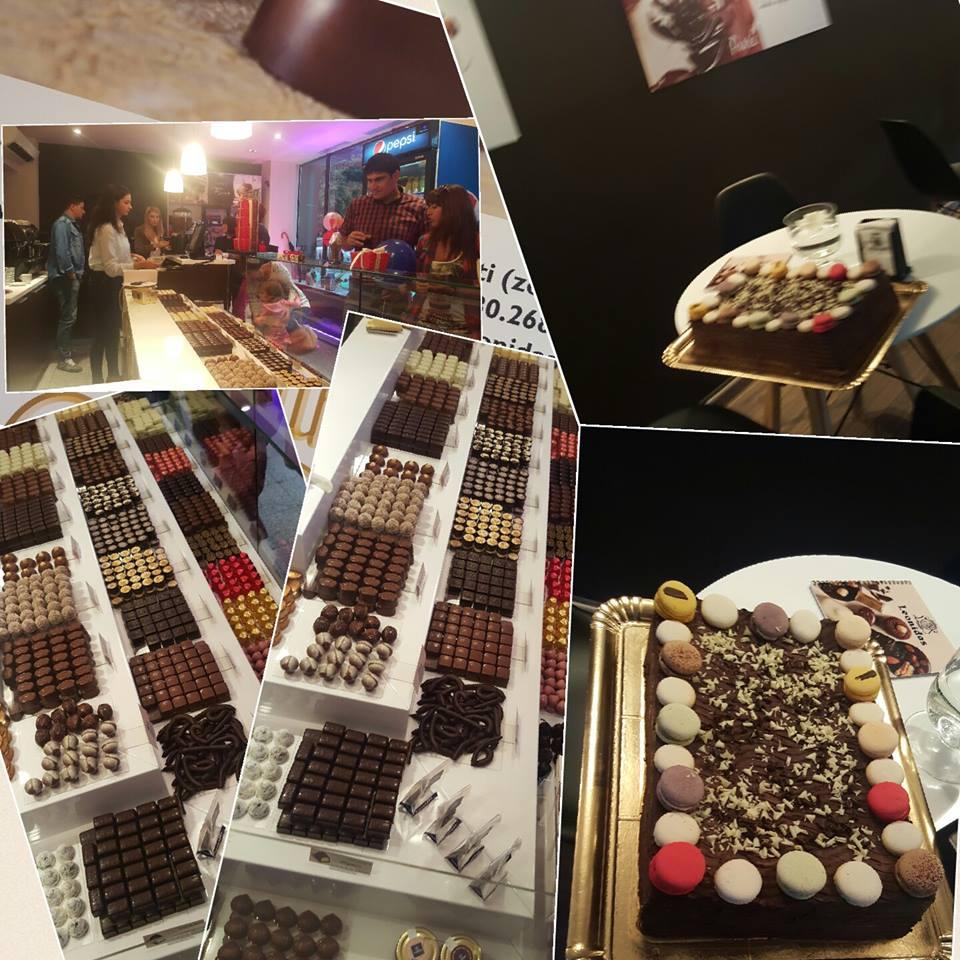 Prima ciocolaterie Leonidas a fost deschisa in Craiova