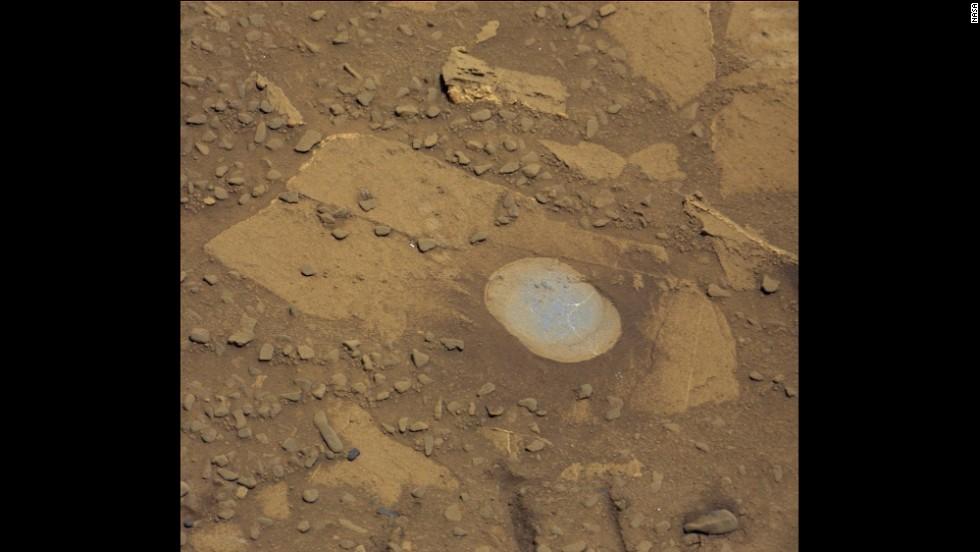 NASA a gasit apa in stare lichida pe Marte!