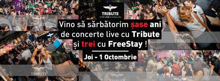 TRIBUTE Club aniversează șase ani de concerte live