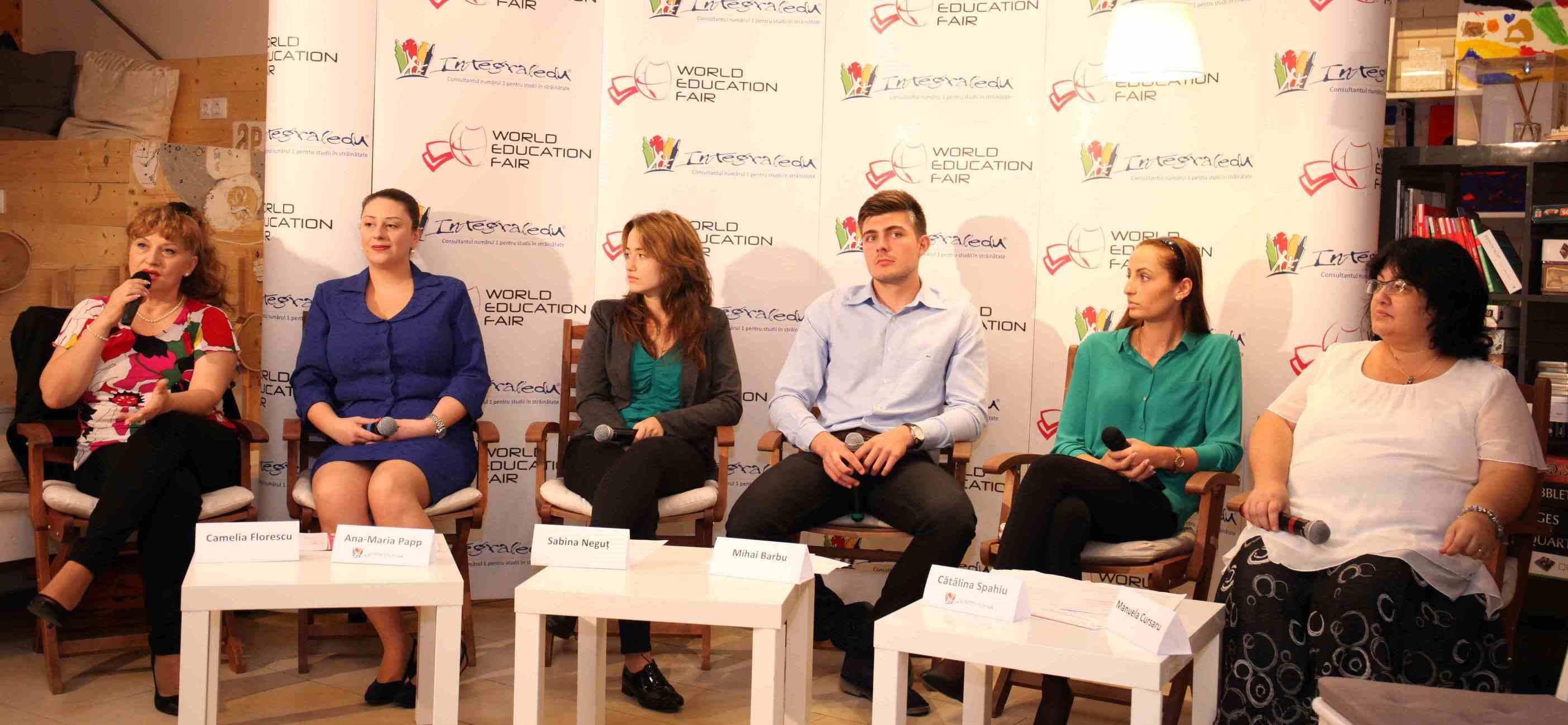 World Education Fair, târgul la care cei mai buni elevi români  se întâlnesc cu reprezentanții universităților de top din străinătate,  revine în acest weekend la București