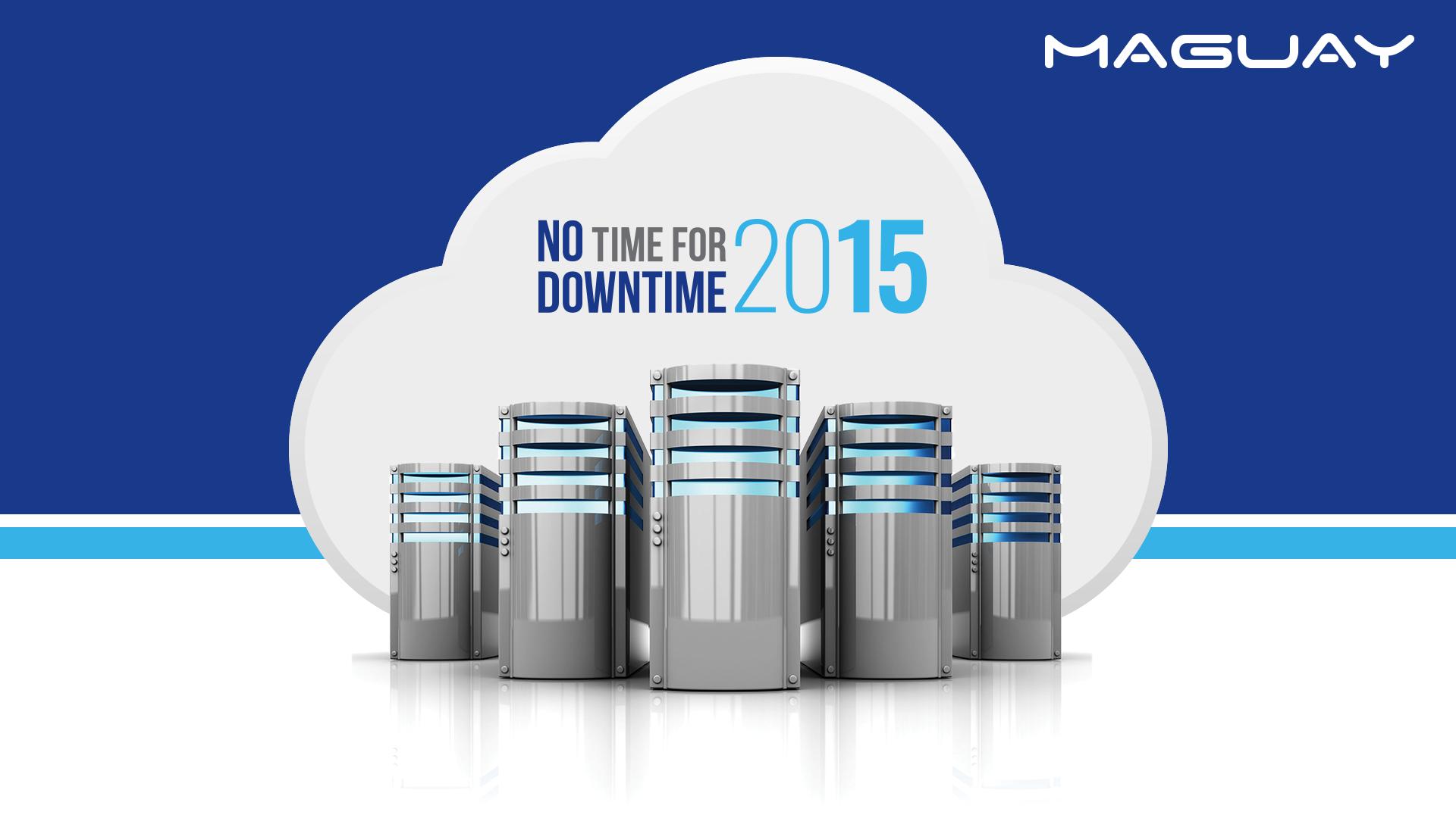 Maguay va organiza No Time for Downtime, ediția 2015