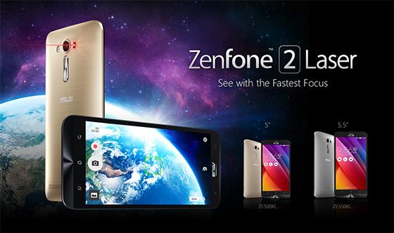 ASUS anunță disponibilitatea telefoanelor ZenFone 2 Laser