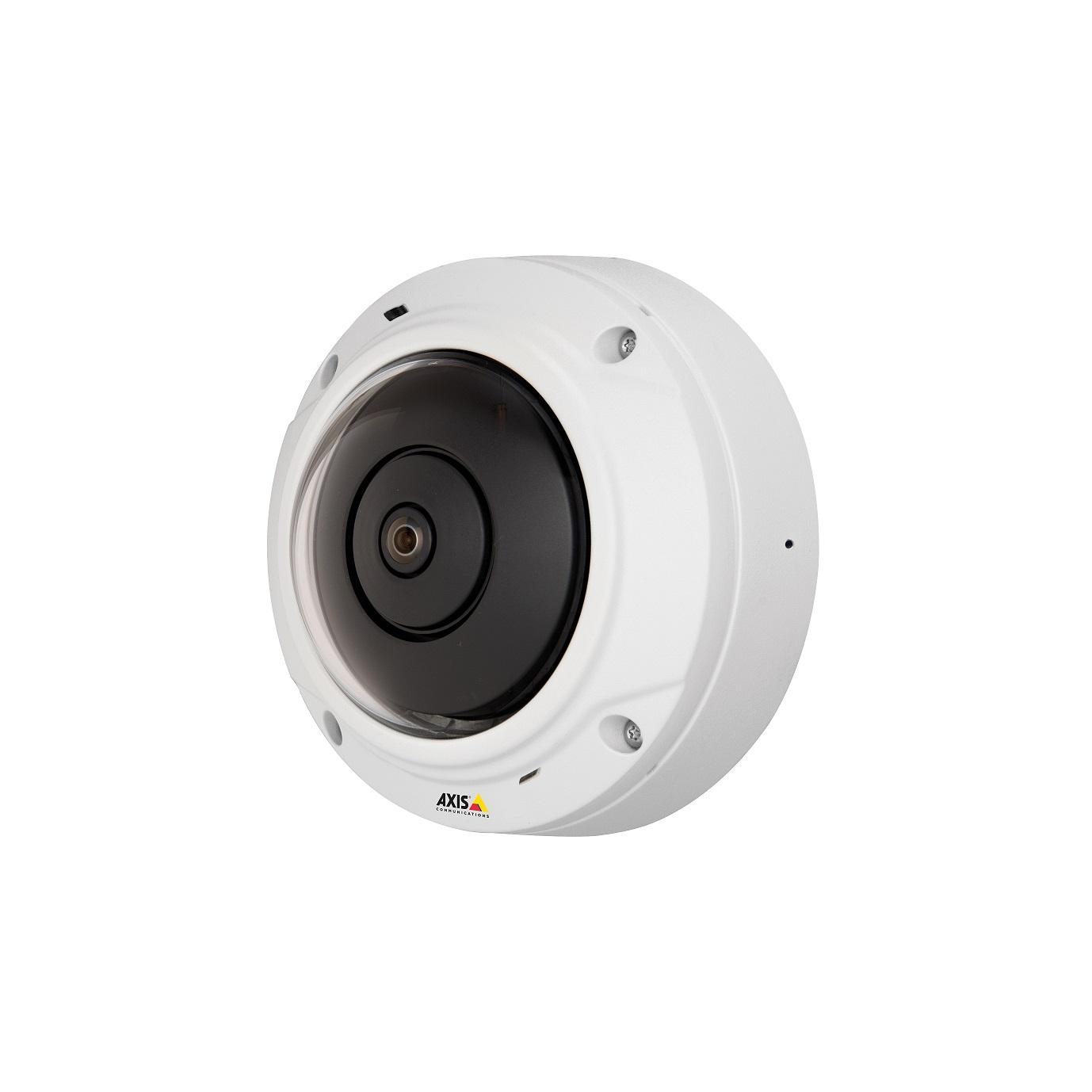 Axis lanseaza camera dome ce permite comunicarea bidirectionala si monitorizarea panoramica