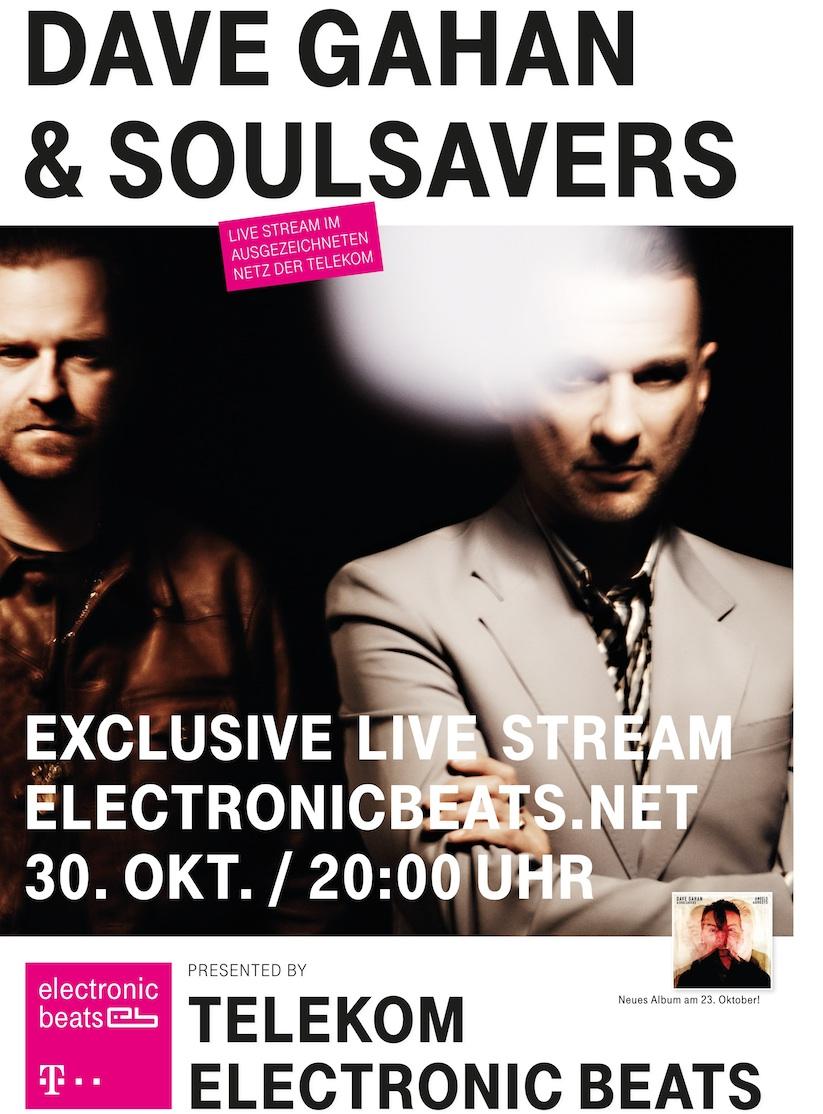Telekom transmite LIVE primul concert sustinut de Dave Gahan si Soulsavers la Berlin