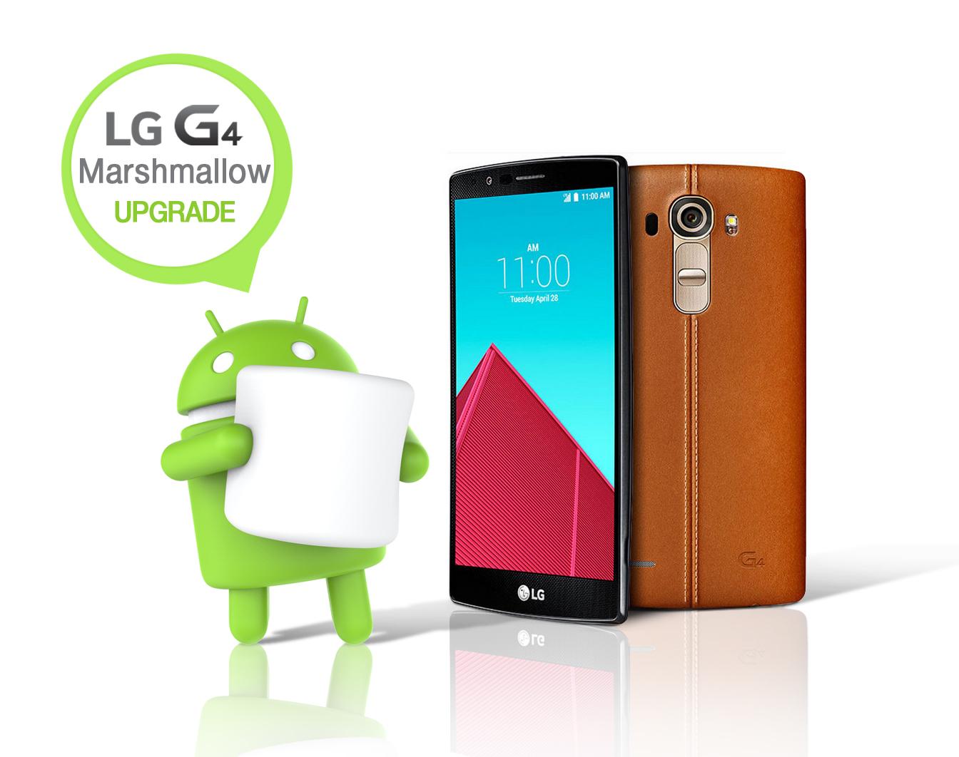 LG introduce noul Android 6.0 Marshmallow începând cu G4