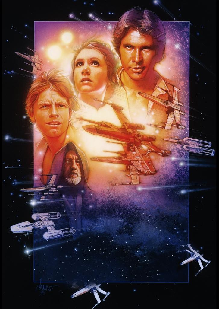 Maratoane Războiul stelelor la AXN