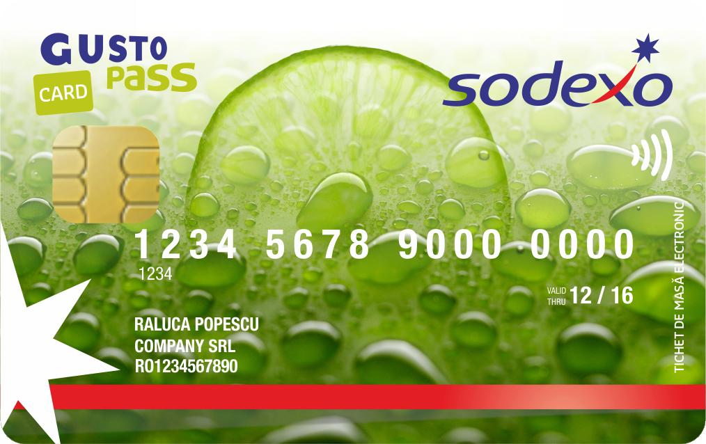 Compania Sodexo este autorizată de Ministerul Finanțelor Publice să emită tichete de masă pe suport electronic