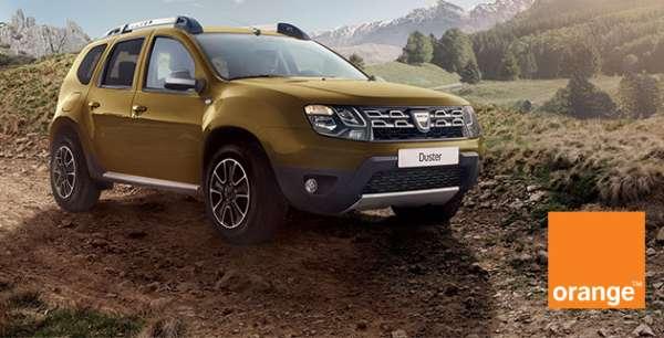 Dacia lansează ediţia specială Duster Connected by Orange