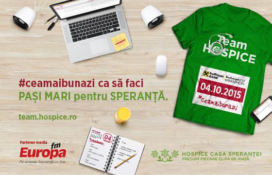 Team HOSPICE, la Maratonul București