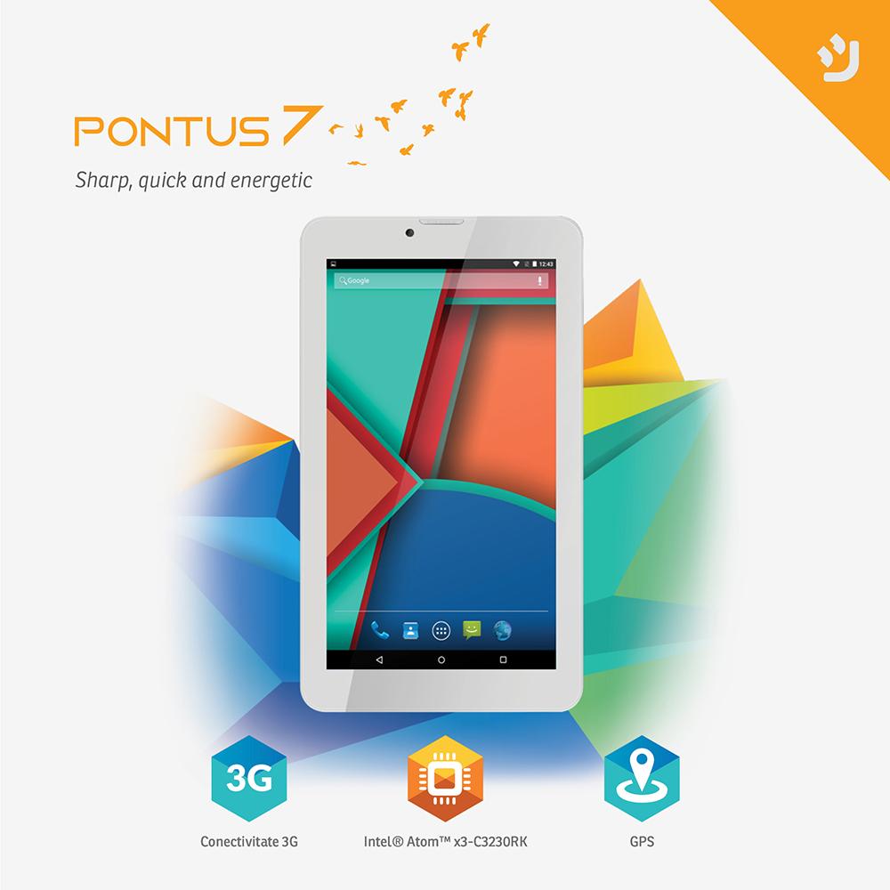nJoy lanseaza noua tableta Pontus 7 – prima tableta cu Intel SoFIA SOC