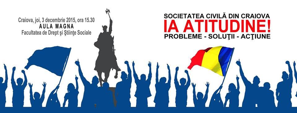 Societatea Civila din Craiova ia Atitudine