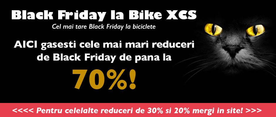 Black Friday 2015 la Bike XCS – reduceri substantiale