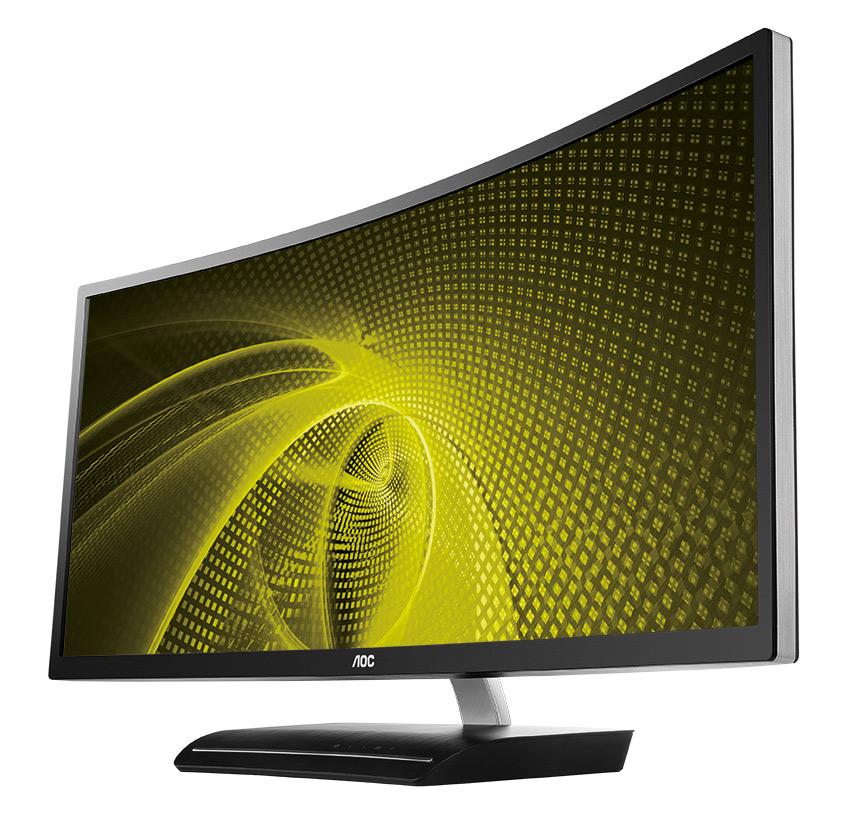 CES 2016: AOC lansează la Las Vegas monitorul curbat de gaming 160 HZ, ecranul Quantum Dot și monitorul 4k de generație viitoare