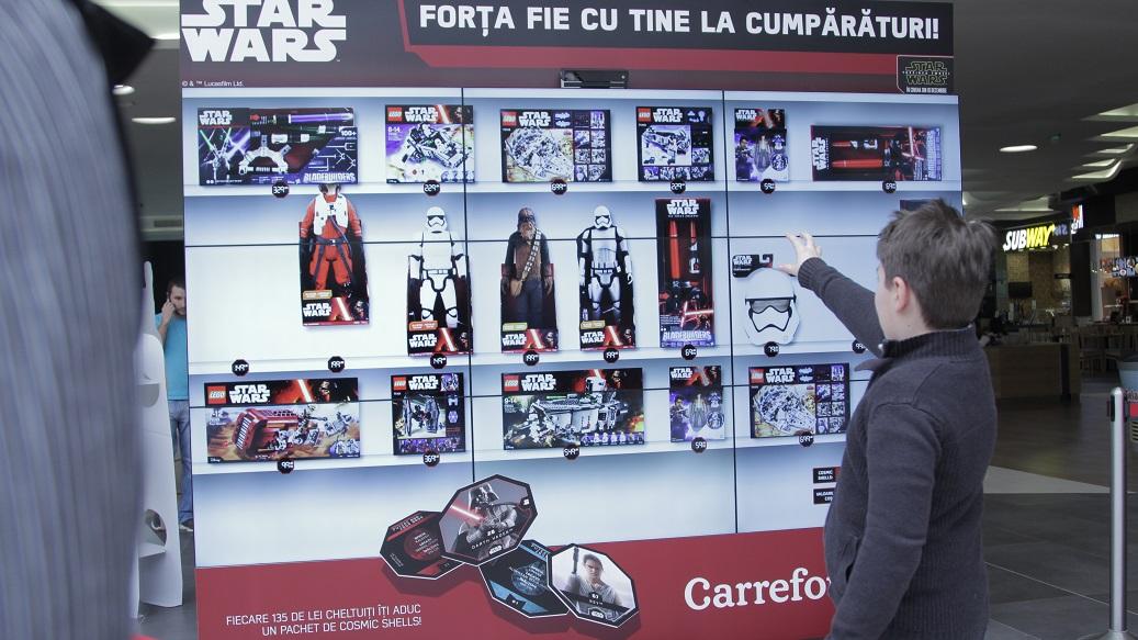 Carrefour România dă viață gesturilor, cu tehnologia Kinect