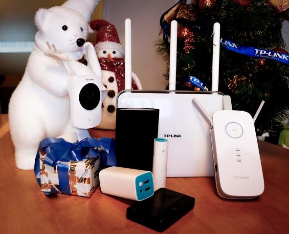 Gadgeturi TP-LINK de până în 500 de lei, pe lista cadourilor pentru Crăciun