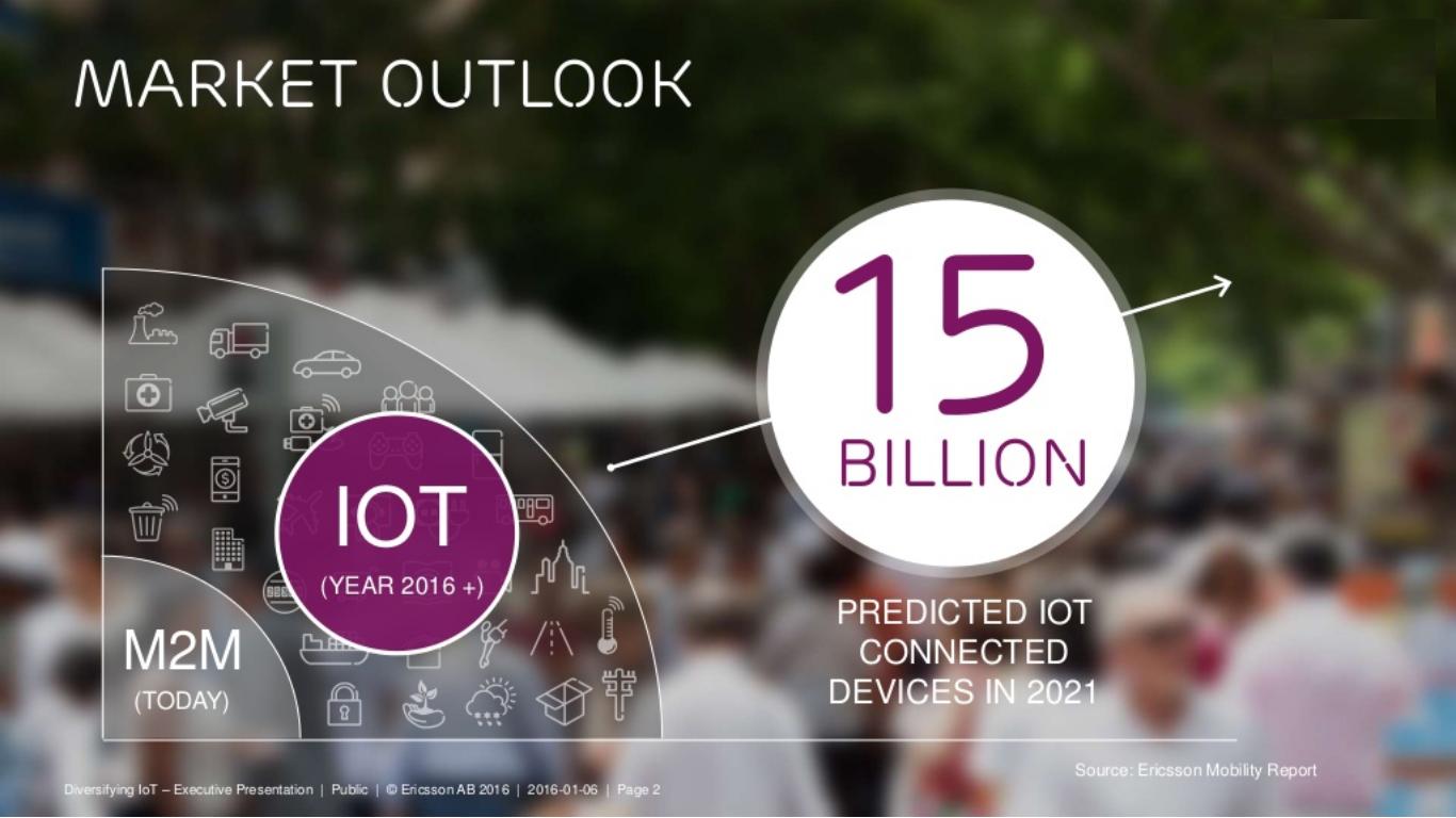 Ericsson și Verizon: planuri pentru a conecta milioane de dispozitive IoT