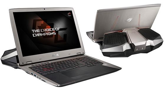 ASUS Republic of Gamers a lansat GX700, primul laptop din lume răcit cu lichid