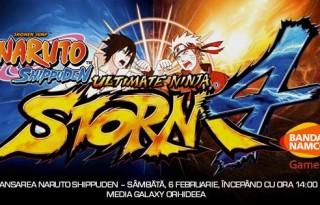 Lansarea Naruto Shippuden