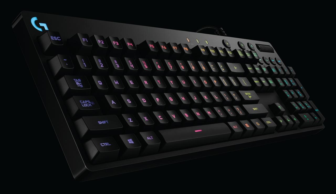 Logitech G lansează o nouă tastatură mecanică RGB