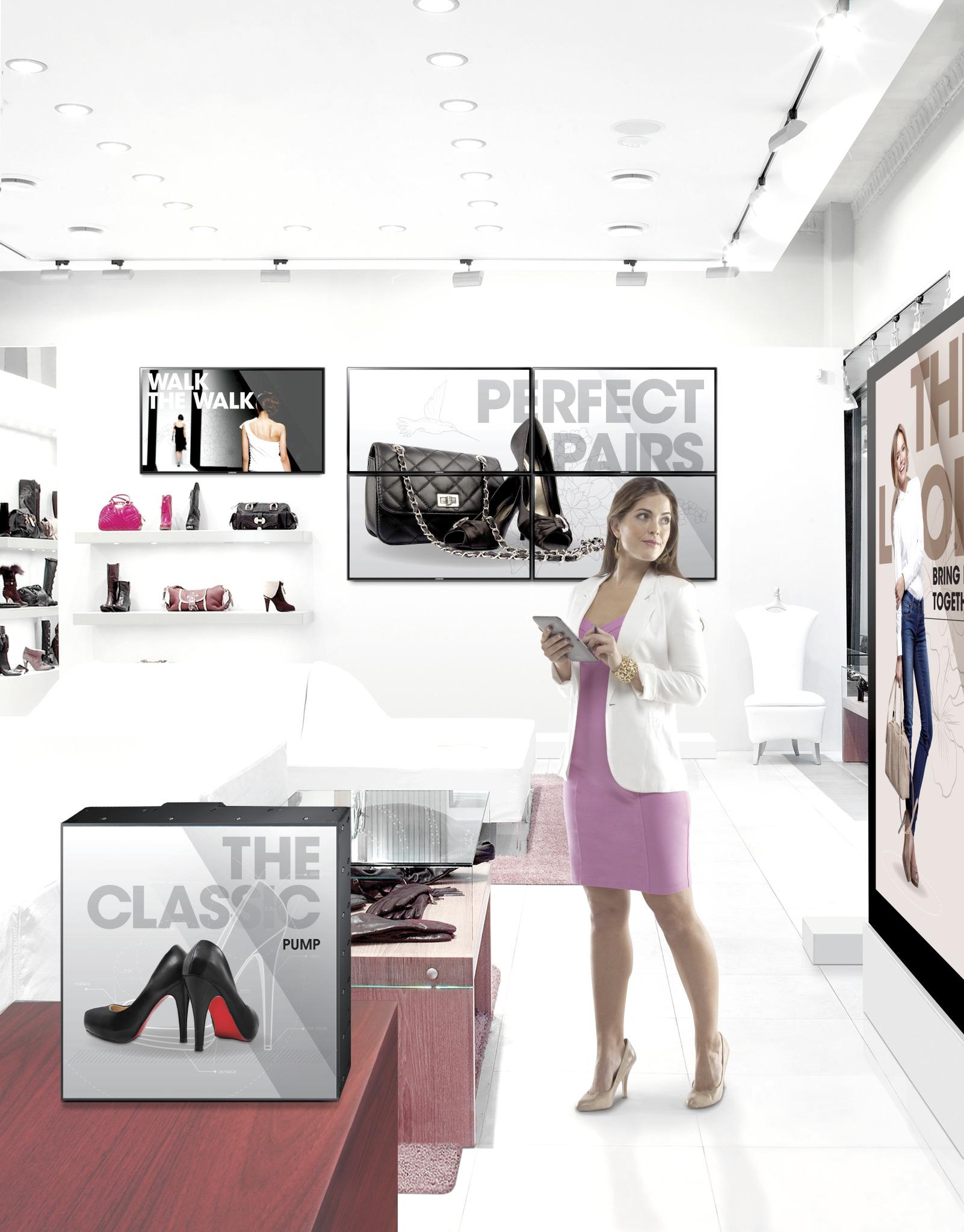 Samsung România: mall-urile și retailerii de fashion sunt primii care implementează soluții de afișaj digital