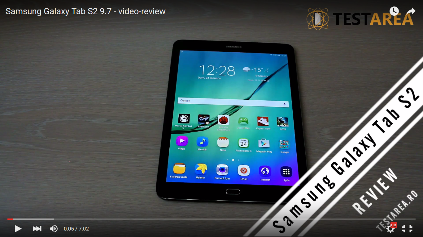 Review: Samsung Galaxy Tab S2 9.7