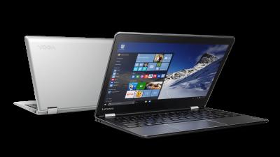 Lenovo lansează noi tablete și laptopuri YOGA  cu sistem de operare Windows 10, ideale pentru călătorii