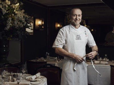Michel Roux Jr, cel mai nou membru Samsung Club des Chefs