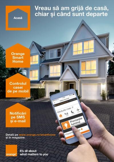 De astazi, casele pot fi mai inteligente cu Orange Smart Home