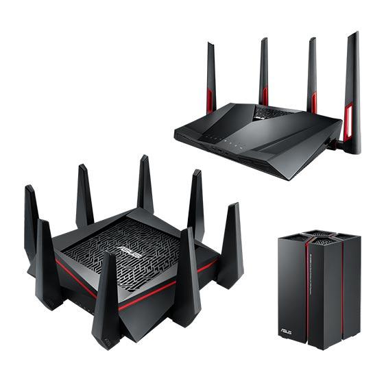 ASUS a lansat routerele RT-AC5300  și RT-AC88U, alături de repetorul Wi-Fi RP-AC68U