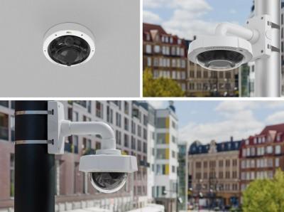 Axis anunţă lansarea de noi camere panoramice multisenzor