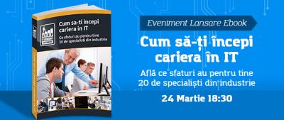 """STEP IT Academy anunță evenimentul de lansare a ebook-ului """"Cum să-ți începi cariera în IT"""""""