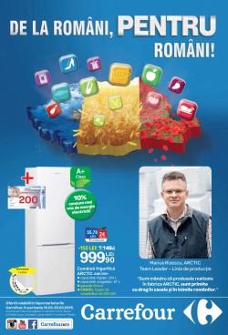 Carrefour susține și promovează produsele fabricate în România prin campania « De la Români, pentru români ! »