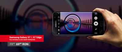 Folie de protectie pentru Samsung Galaxy S7/S7 Edge