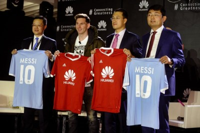 Lionel Messi se alătură familiei de ambasadori globali ai brand-ului Huawei