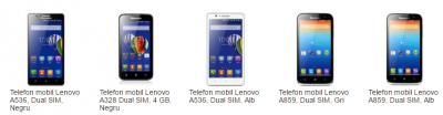 Lenovo A536 Dual SIM – smartphone-ul ideal pentru tine