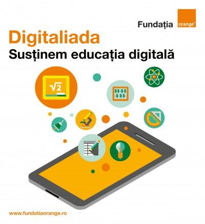 Fundația Orange lansează ȋn cadrul Digitaliada competiția pentru școlile gimnaziale din mediul rural