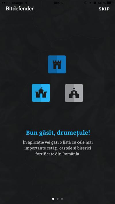 Bitdefender lansează aplicația Drumul Cetăților