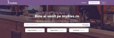 S-a lansat prima platforma din Romania care asigura o relatie de incredere intre prestatorii de servicii si utilizatori – myAles.ro