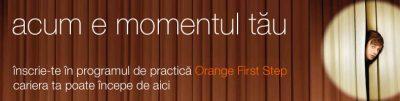 Dăm startul la o nouă ediție de vară a programului de practică Orange First Step
