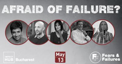 Depășește-ți frica de eșec la a doua ediție  a conferinței Fears & Failures