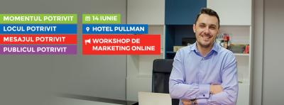 Recomandare pentru antreprenori: Workshop de marketing online cu Ciprian Susanu