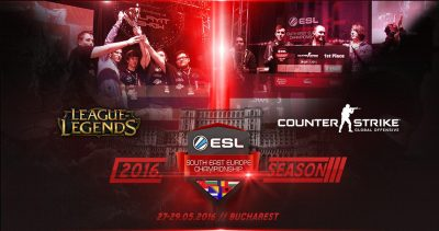 ESL Arena și eMAG aduc finalele Southeast Europe Championship la Comic Con 2016