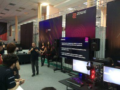 BenQ a prezentat în cadrul ESL Comic Con 2016 noile produse de eSports ZOWIE by BenQ