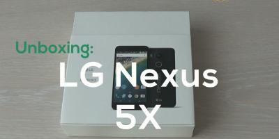Unboxing LG Nexus 5X