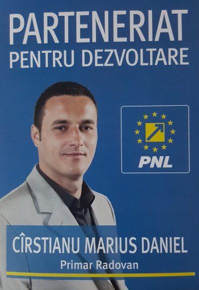 Marius Cirstianu, viitorul primar din Radovan, vrea sa construiasca un parc fotovoltaic si sa rezolve problemele comunei